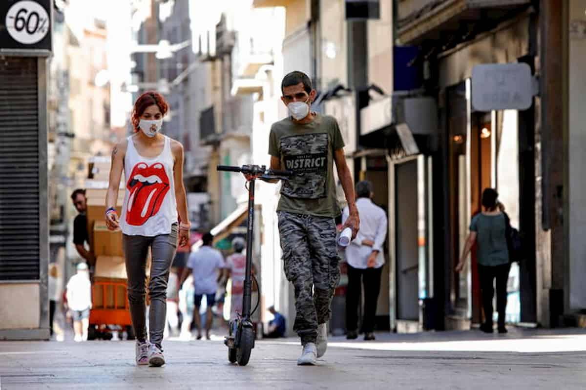 Spagna, 224 focolai