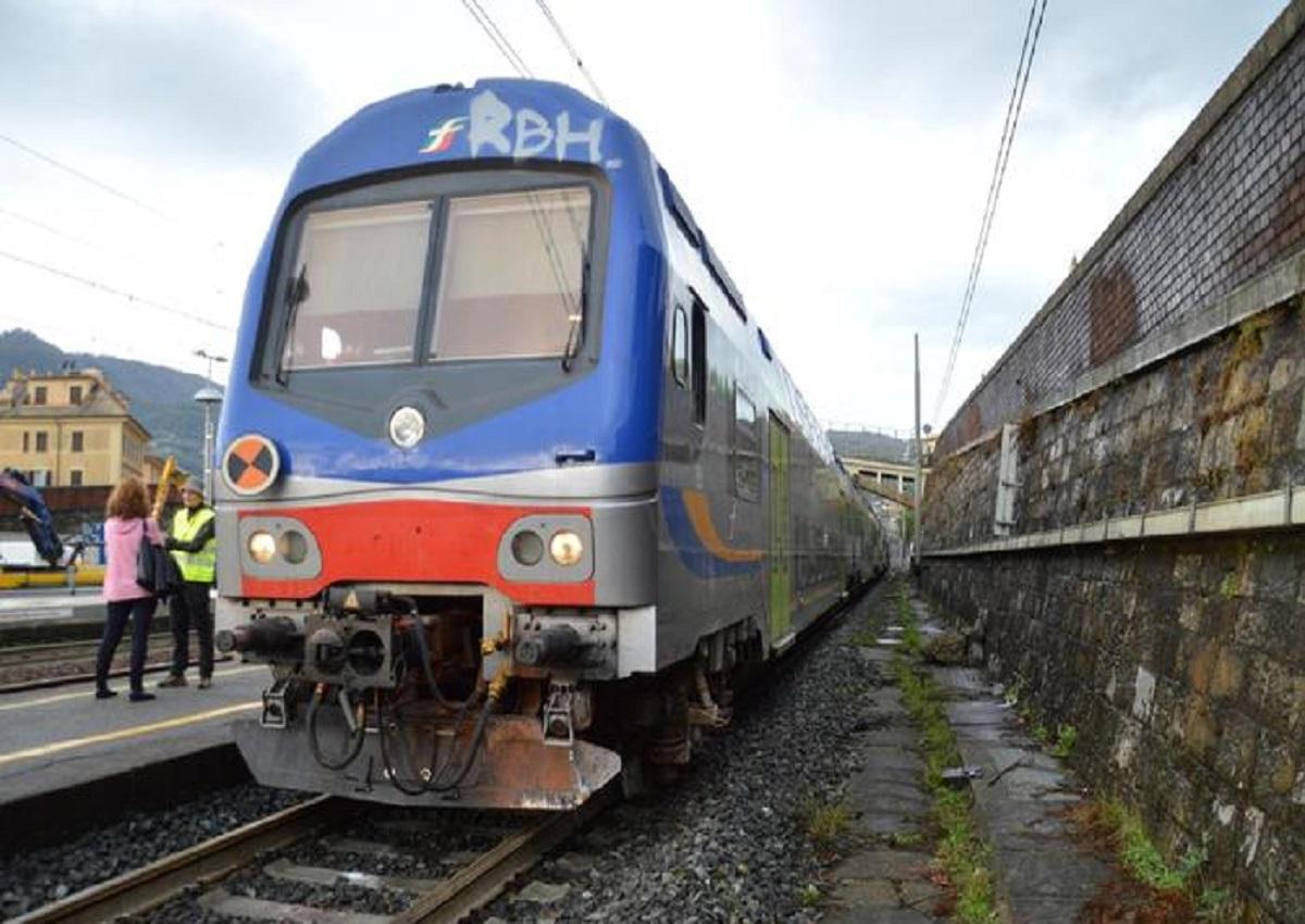 Vernazza, foto d'archivio Ansa della stazione