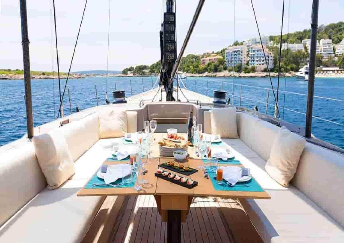 Pier Luigi Loro Piana, foto d'archivio Ansa di uno yacht