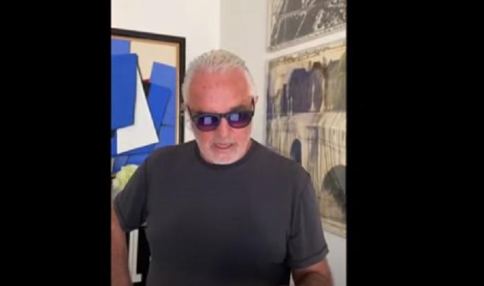 """Flavio Briatore, pochi giorni fa l'attacco ai virologi: """"Avete terrorizzato l'Italia"""" VIDEO"""
