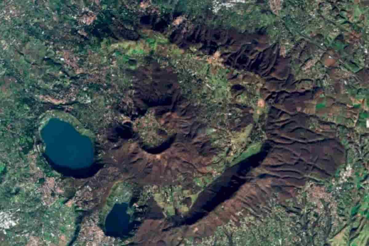 Terremoti a Roma, vulcano Laziale sui Colli Albani