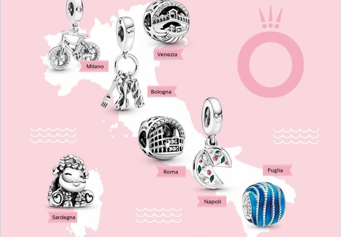 Pandora, charm dedicati all'Italia. Ma la pecora per la Sardegna fa discutere
