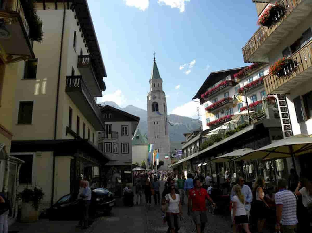 Covid a Cortina d'Ampezzo