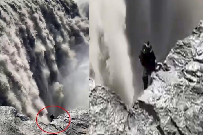 Islanda, misteriosa creatura tra le cascate di Dettifoss. Il video di una turista