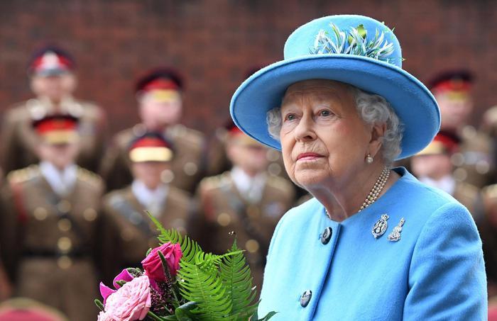 la regina elisabetta, foto ansa