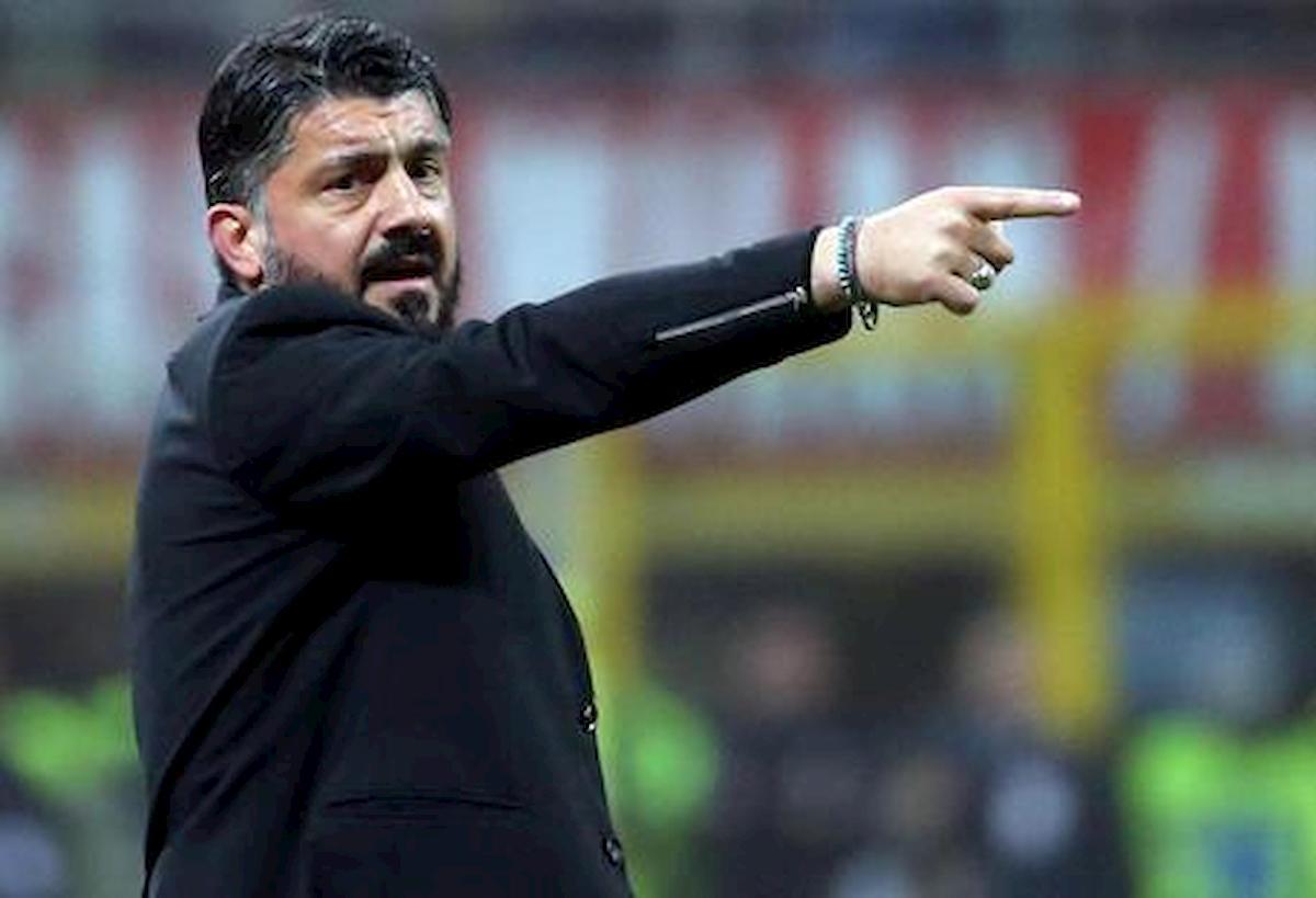 """Napoli-Lazio con rissa finale, Gattuso furioso: """"Terrone? Vienimelo a dire in faccia..."""" filmato youtube"""