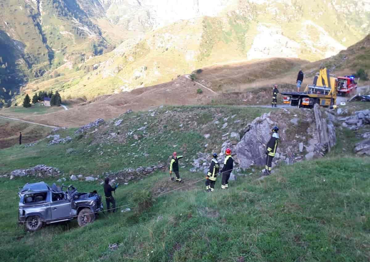 Incidente Cuneo, foto Ansa