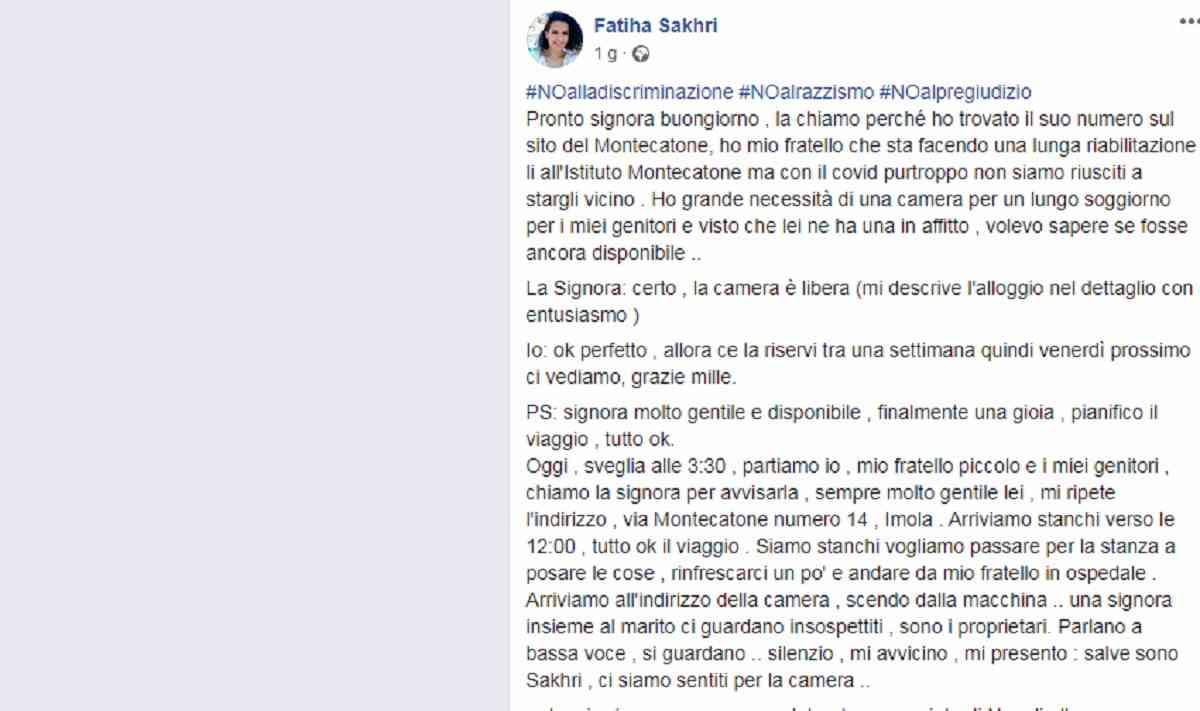 Imola, infermiera campana respinta ad Imola