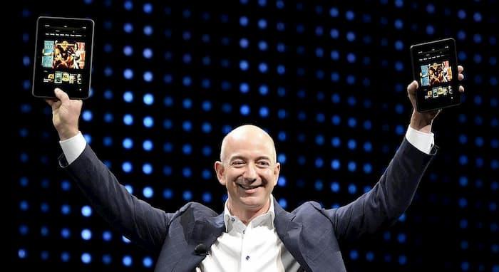 Classifica paperoni, primo Jeff Bezos