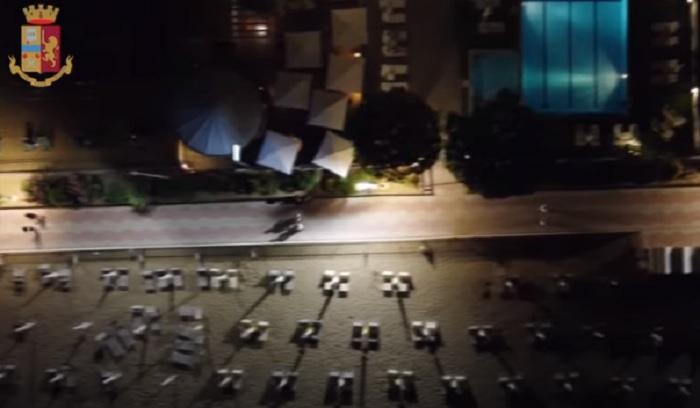 Droga a Jesolo, polizia arresta 11 spacciatori grazie al drone VIDEO