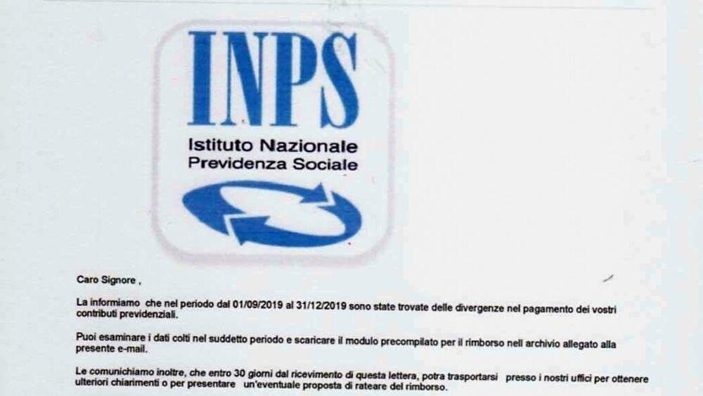 Bonus 600 euro, la finta mail Inps per rubare i vostri dati
