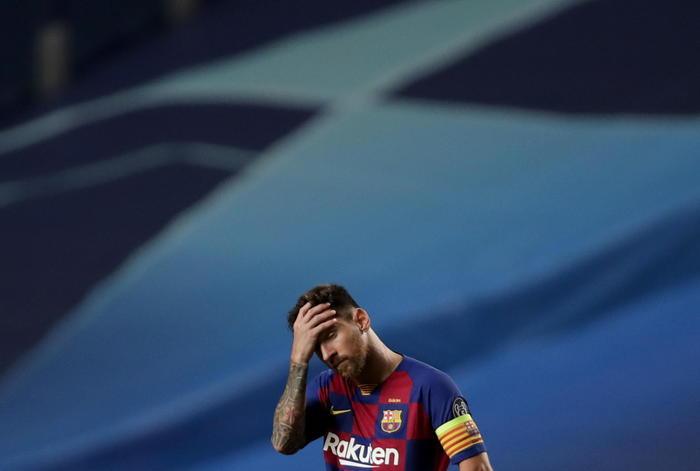 Messi vuole lasciare il Barcellona