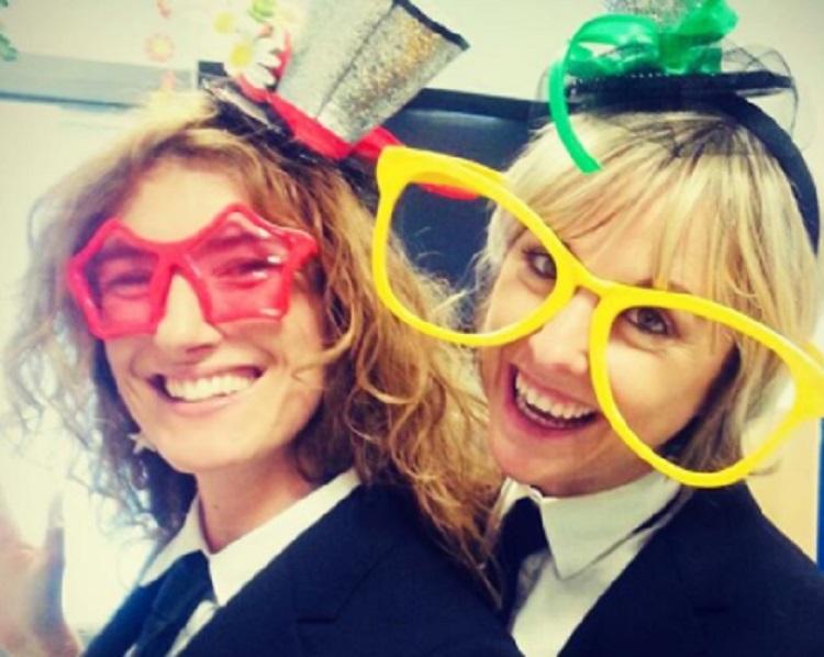 Nadia Toffa e Nina Palmieri, Instagram