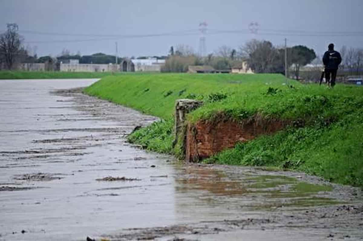 Prato, cade nel fiume Ombrone per recuperare il cane