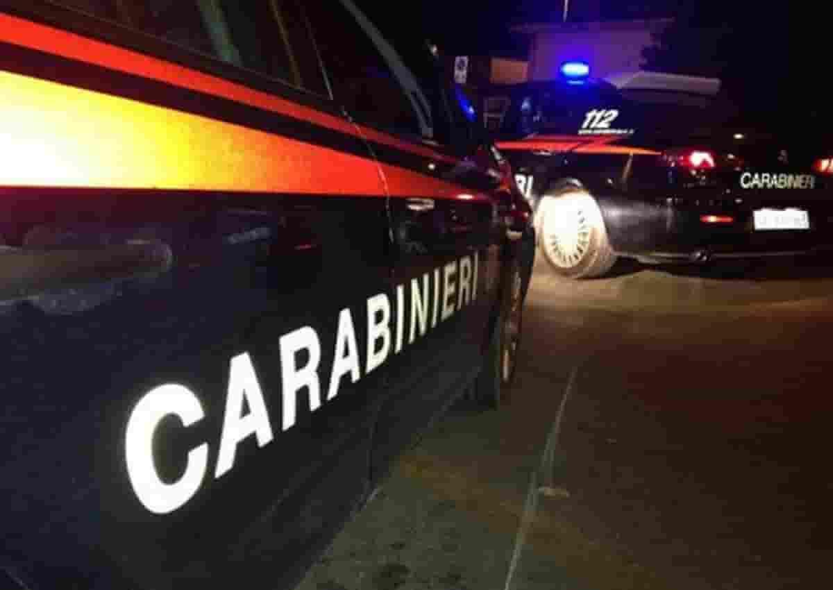 Omicidio Luciano Amoretti, foto d'archivio Ansa di una volante dei carabinieri