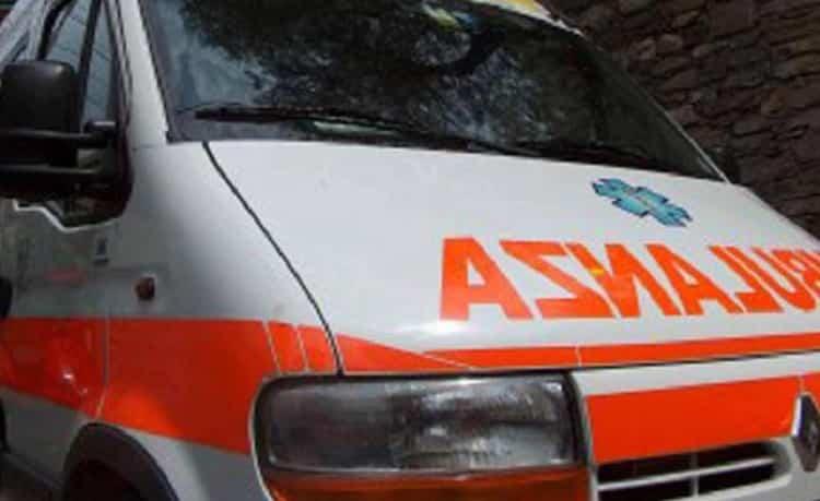 Incidente Palermo, foto d'archivio Ansa di una ambulanza