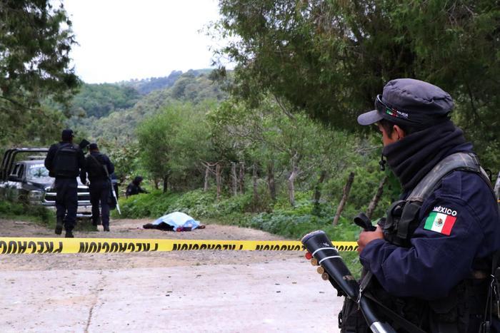 polizia messicana, foto Ansa