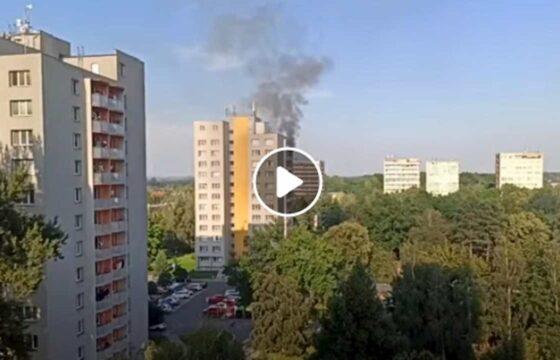 Repubblica Ceca, incendio in un condominio