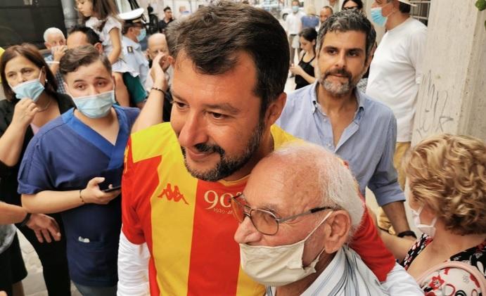 """Mastella: """"Salvini? La multa è già pronta. Sono circa 400 euro"""""""