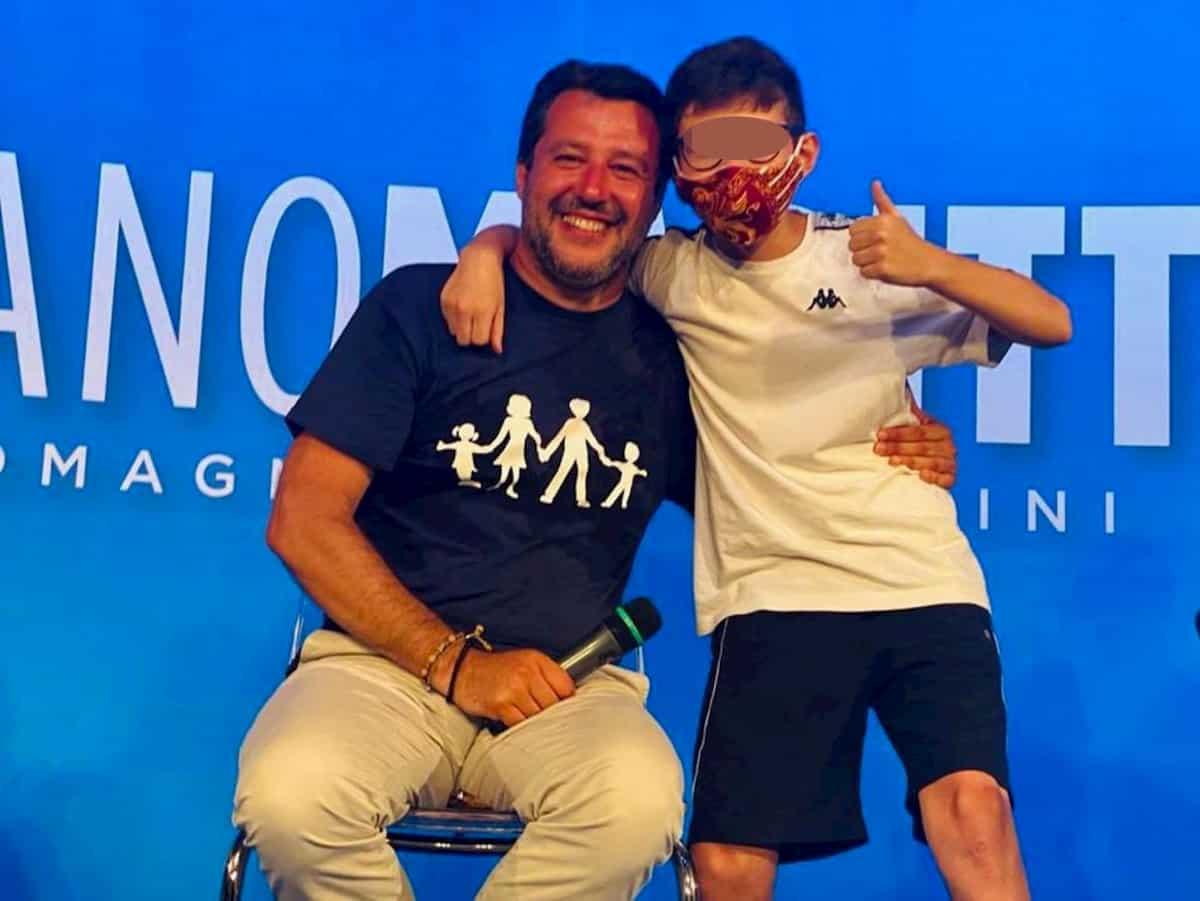 Salvini-mascherina, binomio improbabile