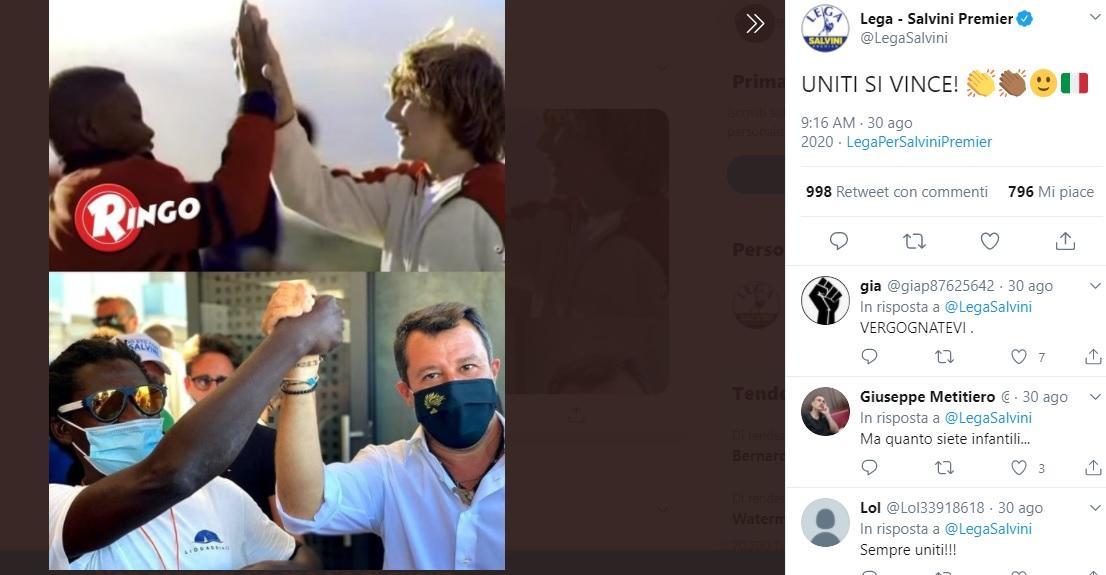 """Lega usa lo spot Ringo per fare campagna elettorale, Barilla: """"Non abbiamo autorizzato"""""""