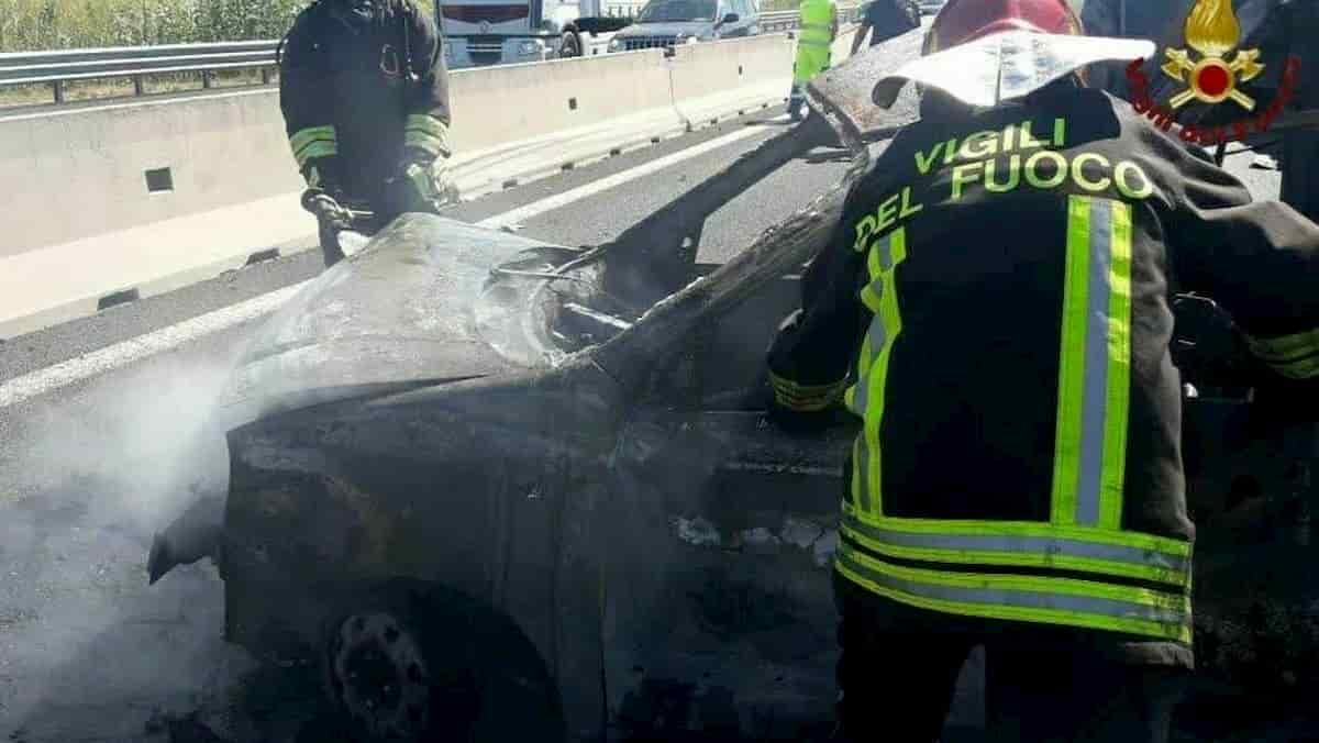A1, incidente in autostrada