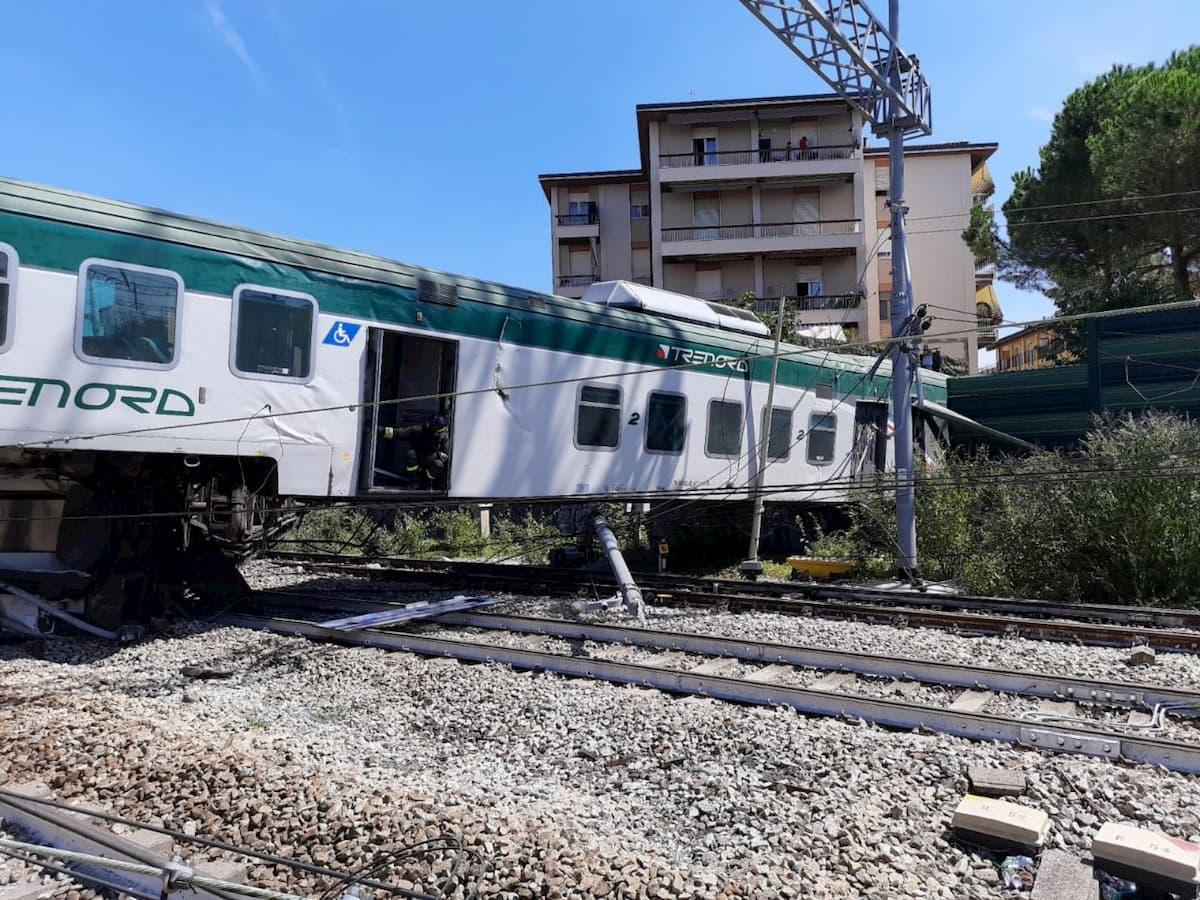 Treno deragliato a Carnate ha viaggiato per 10 km senza macchinisti. Erano scesi per una pausa