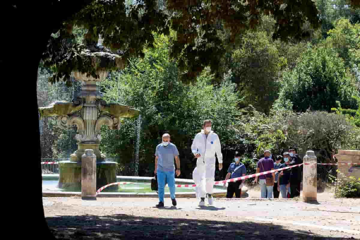 Villa Pamphili, uomo trovato morto in una fontana