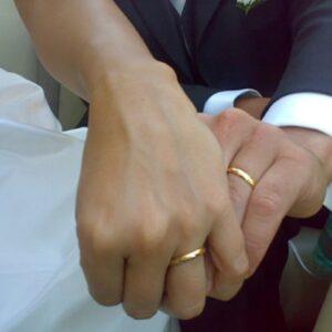 Clive Blunden, foto d'archivio Ansa di un matrimonio