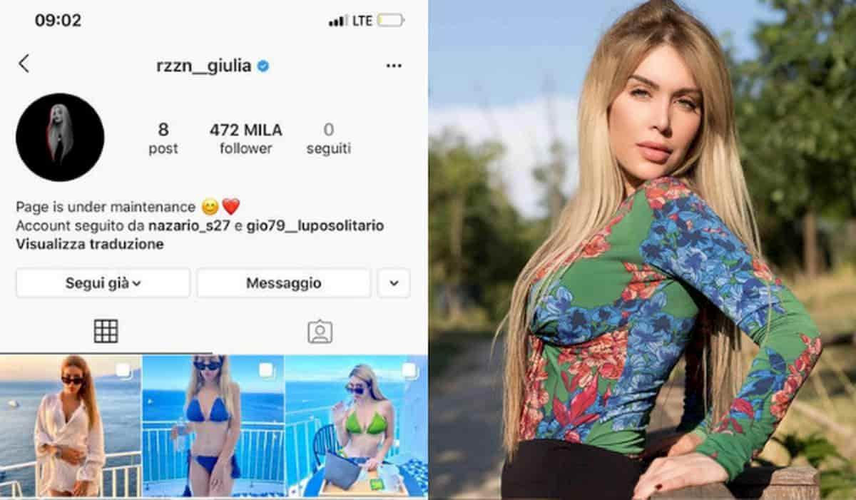 Giulia Ragazzini truffata, rubato il profilo Instagram: