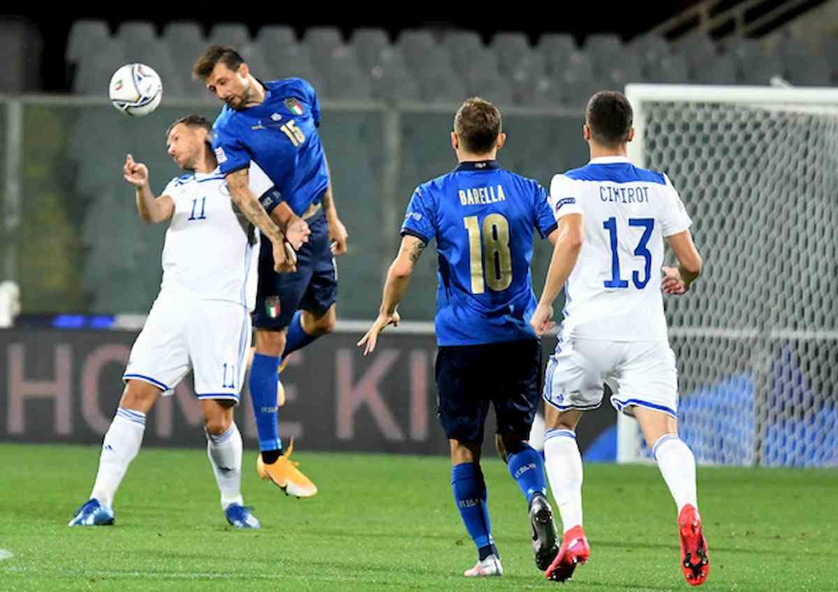 Nations League, Italia: solo 1-1 con la Bosnia. La striscia di vittorie ferma a 11
