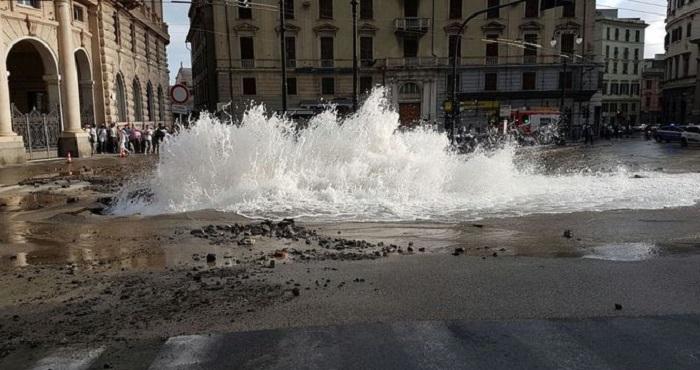 Emergenza idrica vicino Imperia. Si rompe tubo, in migliaia senza acqua per giorni