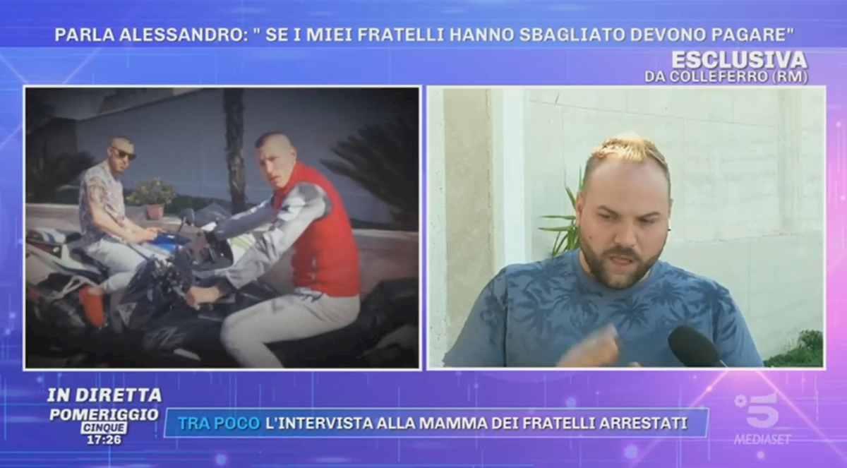 """Alessandro Bianchi, il fratello maggiore di Marco e Gabriele: """"Non sono stati loro a uccidere Willy"""""""