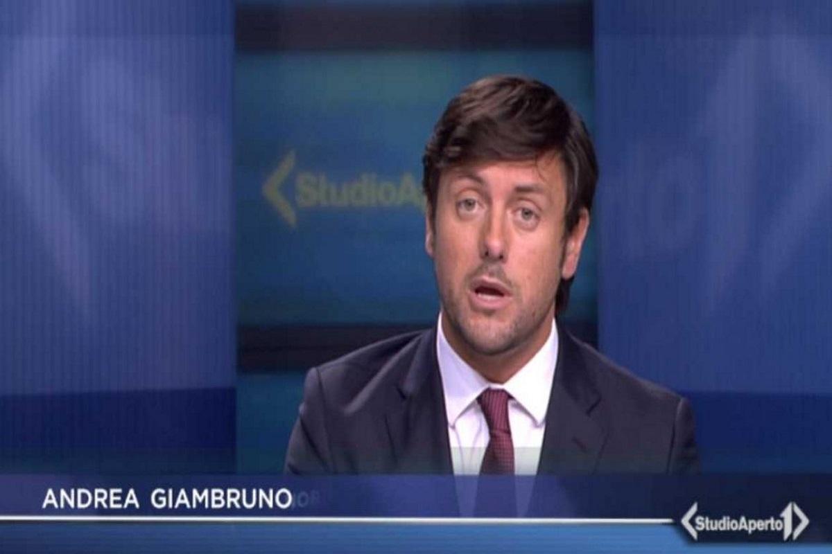 Andrea Giambruno, Studio Aperto