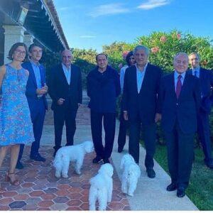 Focolaio a Villa Certosa, Berlusconi, compagna, figli, nipoti... Tutti positivi