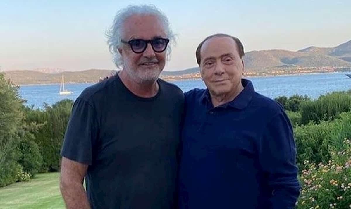 """""""Pensa di aver contagiato lei Berlusconi?"""", Briatore si arrabbia e chiude il telefono"""