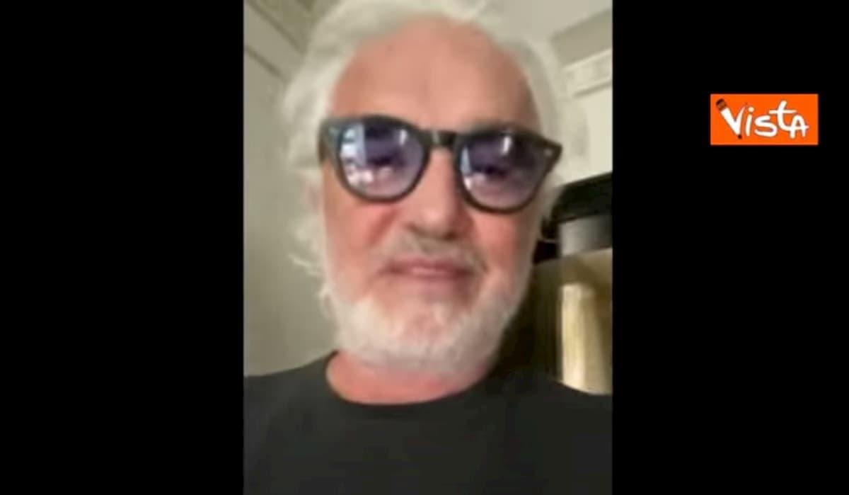 """Briatore in quarantena: """"Sono in super forma, pronto per ripartire"""""""