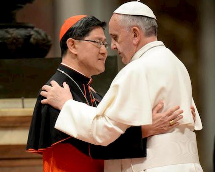 Cardinale Tagle positivo, forse contagiato a Roma. Il 29 agosto ha incontrato Papa Francesco