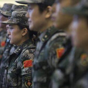 Cina, foto Ansa dell'esercito cinese