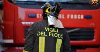 Cremona, foto d'archivio Ansa dei Vigili del Fuoco