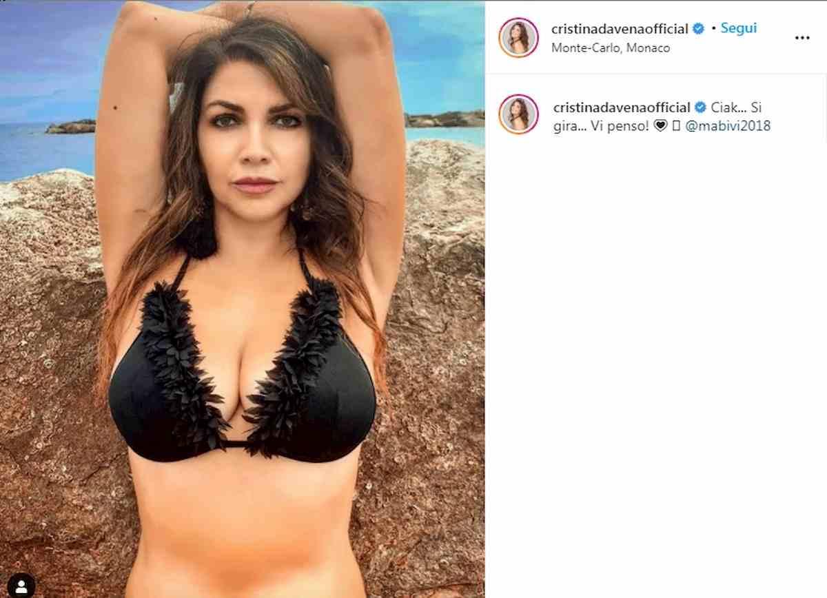 Crsitina D'Avena su Instagram