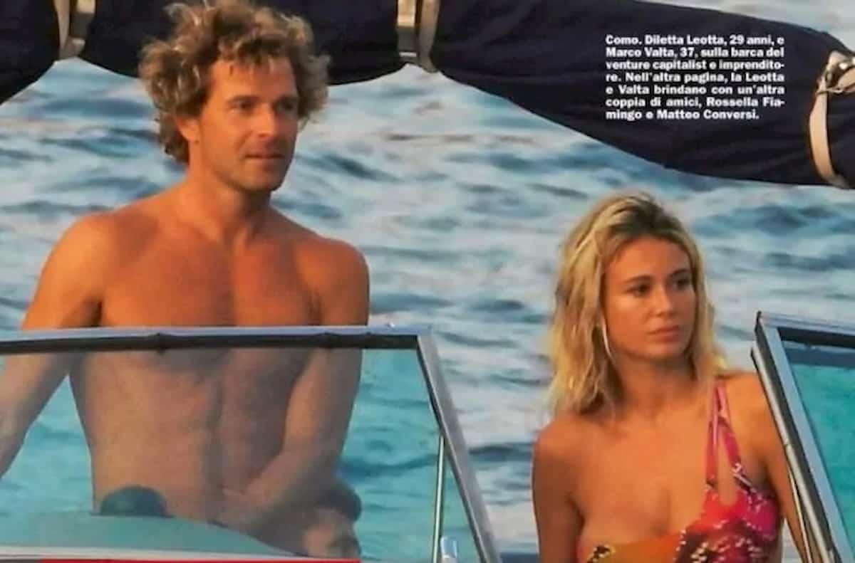 Diletta Leotta, weekend in barca con Marco Valta