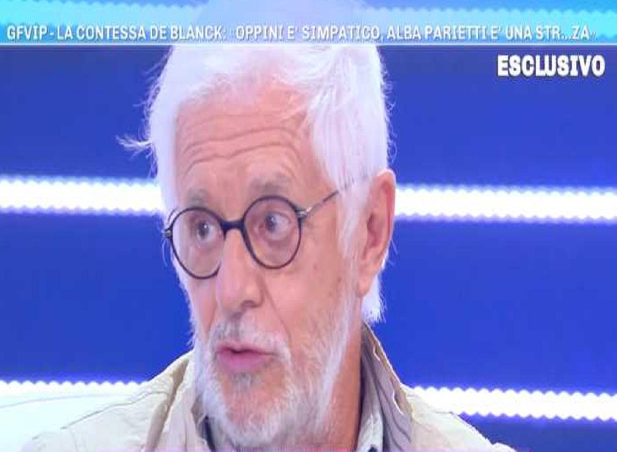 Domenica Live Franco Oppini Contro Alba Parietti Fai Piu La Madre E