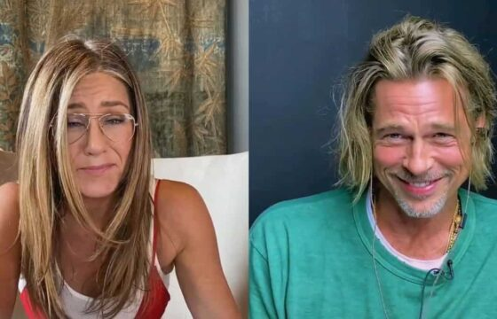 Brad Pitt e Jennifer Aniston di nuovo insieme
