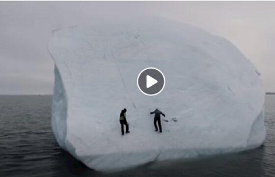 michael horn e l'iceberg