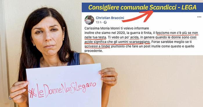 """Monia Monni (Pd), offese sessiste dal consigliere Lega: """"Ti vedo acida, scarseggiano gli uomini?"""""""