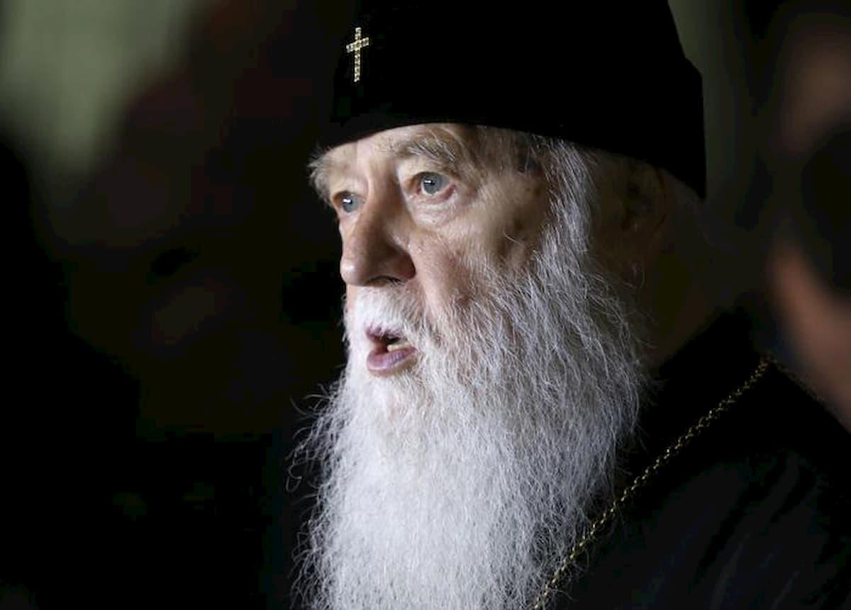 """Coronavirus, il patriarca di Kiev Filaret ricoverato. Disse che il Covid era """"la punizione per i matrimoni gay"""""""