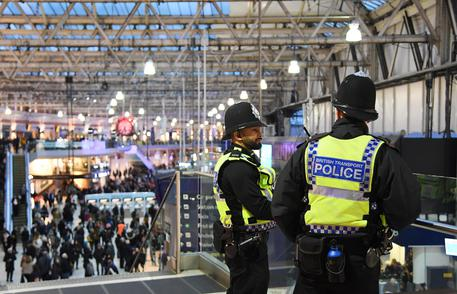Polizia Gran Bretagna, foto Ansa