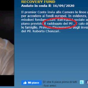 Raddoppio del Pil italiano! Signore perdona stampa e Tg, non sanno quello che dicono