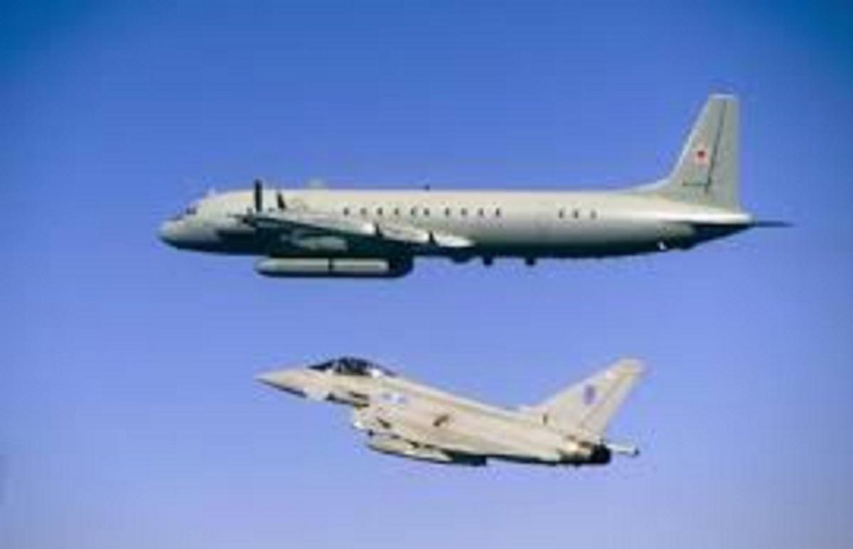 Regno Unito, foto Ansa di aerei della RAF